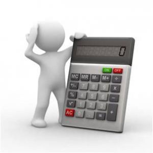 calculator man